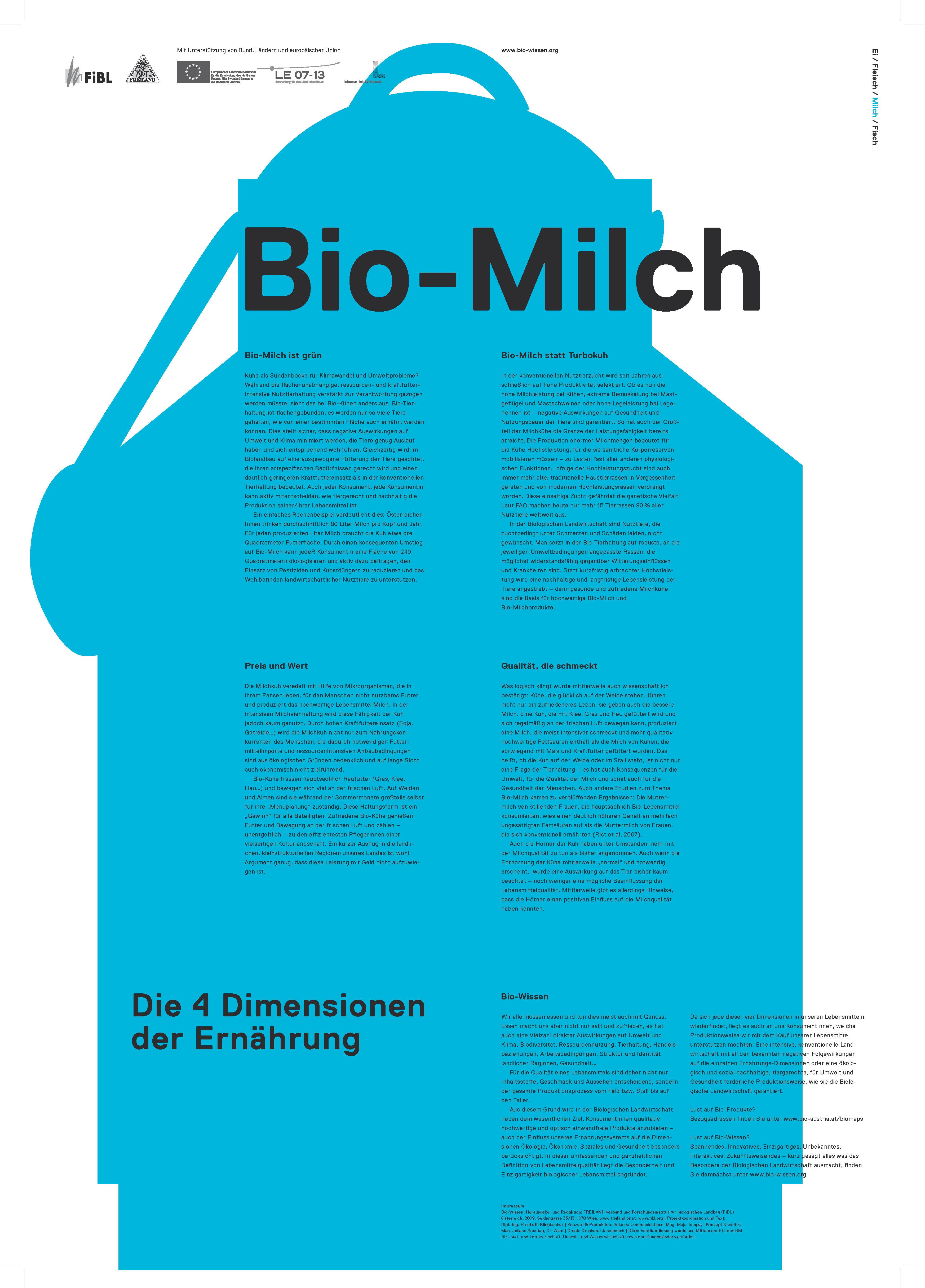 Bio-Wissen Bio-Milch Freiland-Geschichte