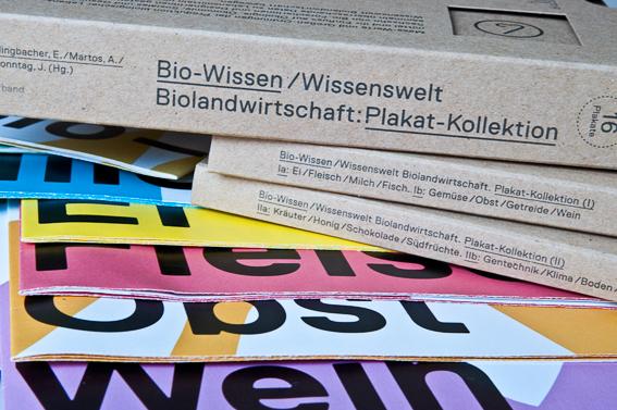 Bio-Wissen Bio-Plakatkollektion Wissenswelten Biolandwirtschaft Freiland Verband